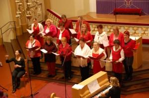 Kauneimmat joululaulut Someron kirkossa joulukuussa 2011. Kuva: Matti Pomppu